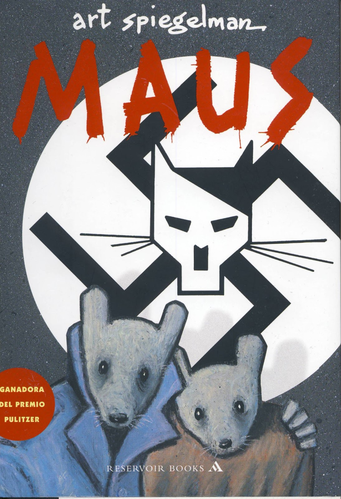 Art Spiegelman, Maus, portada